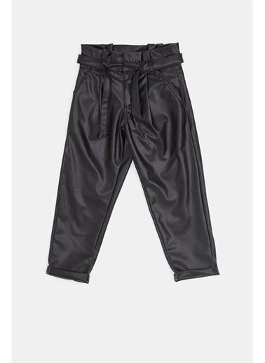 Tyess Kız Çocuk Siyah Pantolon 20Fw1Tj4230 Siyah